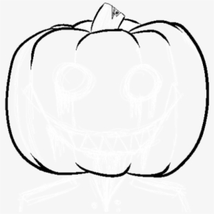 Vector Pumpkins Pumpkin Outline.
