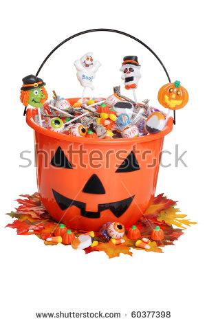 Candy Bucket Stock Photos, Royalty.