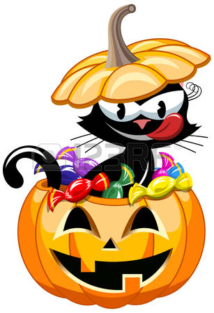 Pumpkin Pail Isolated Stock Photos & Pictures. Royalty Free.