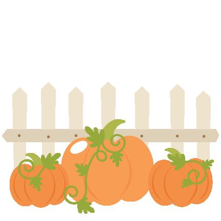 Pumpkin patch clipart 4.