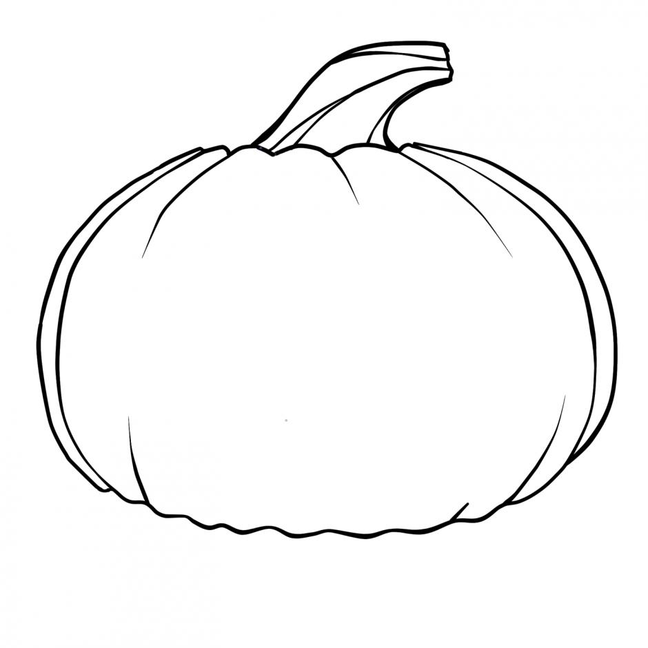 93+ Black And White Pumpkin Clip Art.