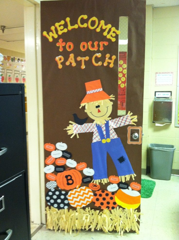 25+ best ideas about Fall Classroom Door on Pinterest.