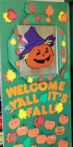 Charlie brown fall pumpkin bulletin board for the classroom.