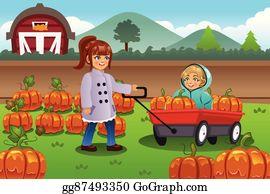 Pumpkin Patch Clip Art.