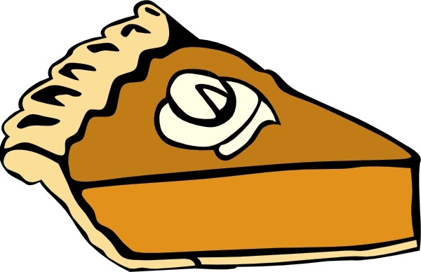 Pumpkin Pie clip art Free vector in Open office drawing svg.