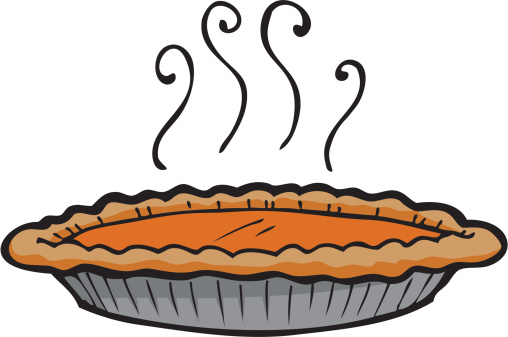 Pumpkin Pie Clip Art, Vector Images & Illustrations.
