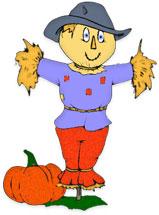 Scarecrow Clip Art Printable.