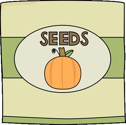 Pumpkin Seed Clipart.