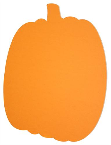 Orange Pumpkin Shape Pre.