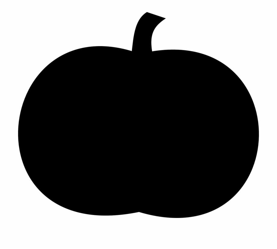 Pumpkin Silhouette Black.