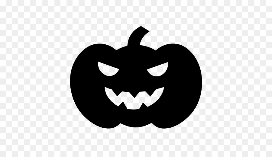 Halloween Pumpkin Silhouette png download.