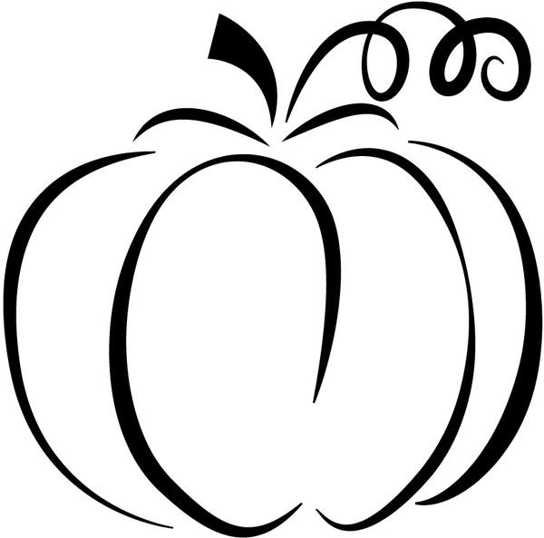 Pumpkin silhouette Free vector in Adobe Illustrator ai ( .ai.