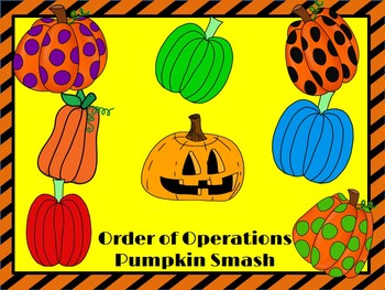 Order of Operations: Pumpkin Smash (Halloween by 4 the Love of.
