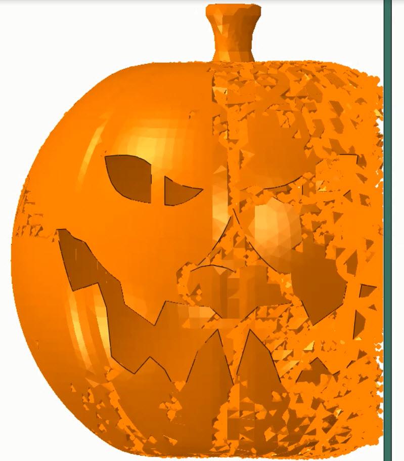 SIMULIA Abaqus Pumpkin Smash.