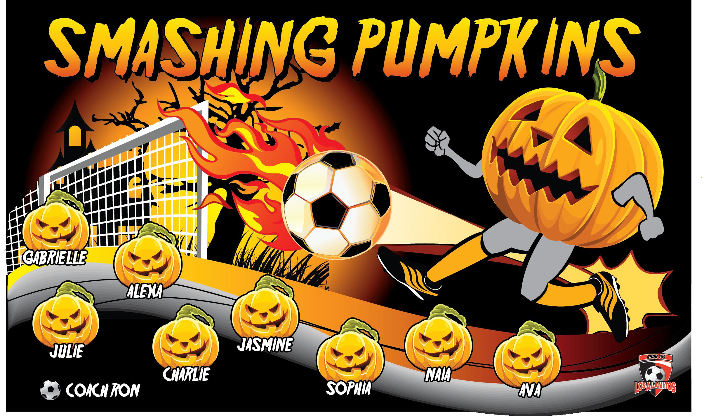 Smashed Pumpkin Clip Art.