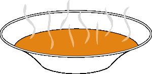 Steaming Pumpkin Soup clip art Free Vector / 4Vector.