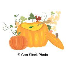 Pumpkin soup Illustrations and Clipart. 153 Pumpkin soup royalty.