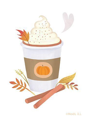 Pin by Joyberry Studios on Autumn Illustration.