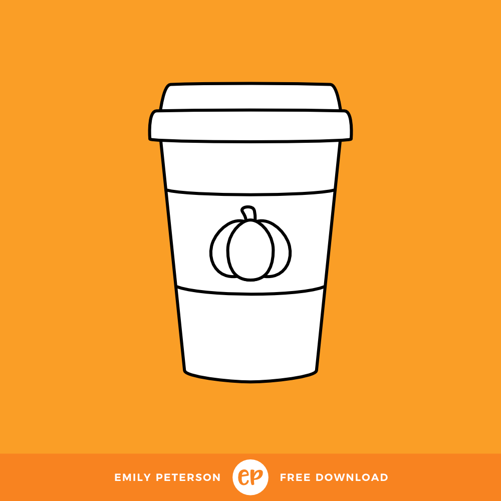 Freebie • Pumpkin Spice Latte.