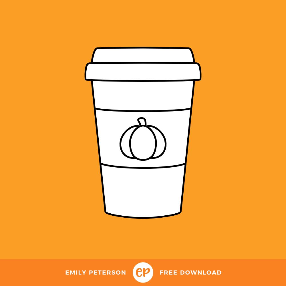 Freebie • Pumpkin Spice Latte.