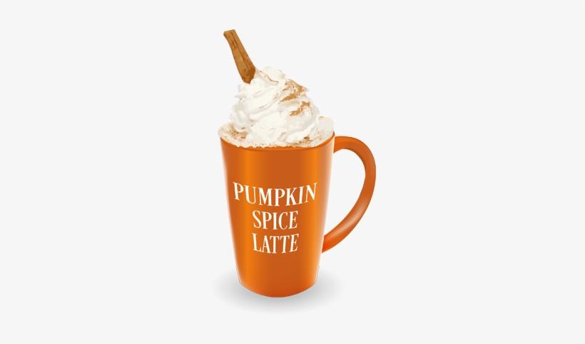 Pumpkin Spice Latte Png.