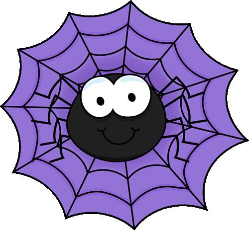 Halloween Spider Clipart.
