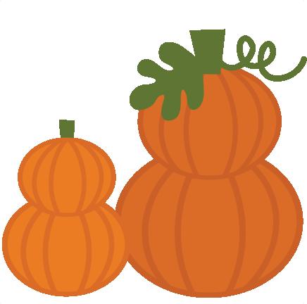 Stacked Pumpkins SVG files for scrapbooking pumpkin svg files.