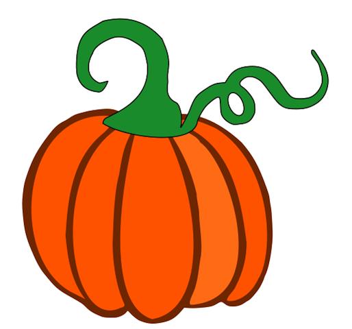 Pumpkin stem clipart.