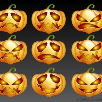 210+ Pumpkin Clip Art Vectors.