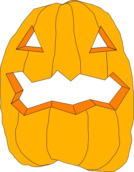 Pumpkin clip art Free vector in Open office drawing svg ( .svg.