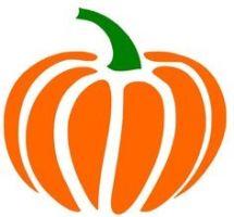 Vintage Pumpkin Clipart.