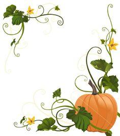 Clipart Pumpkin Vines.