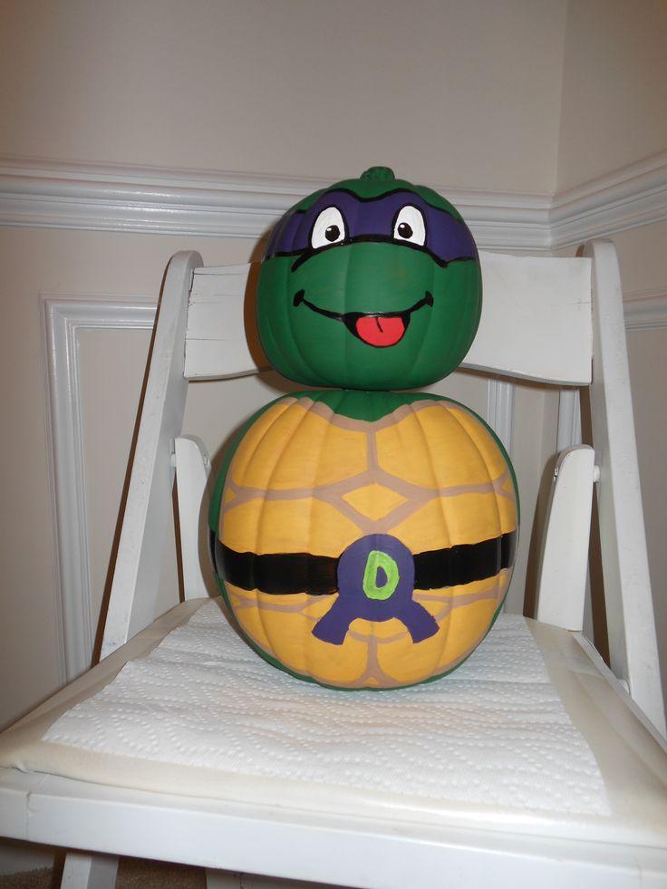 20+ best ideas about Ninja Turtle Pumpkin on Pinterest.
