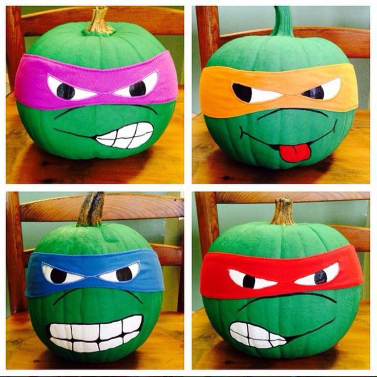 17 Best ideas about Ninja Turtle Pumpkin on Pinterest.