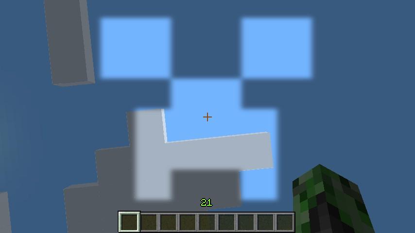 Creeper Pumpkin blur Minecraft Texture Pack.