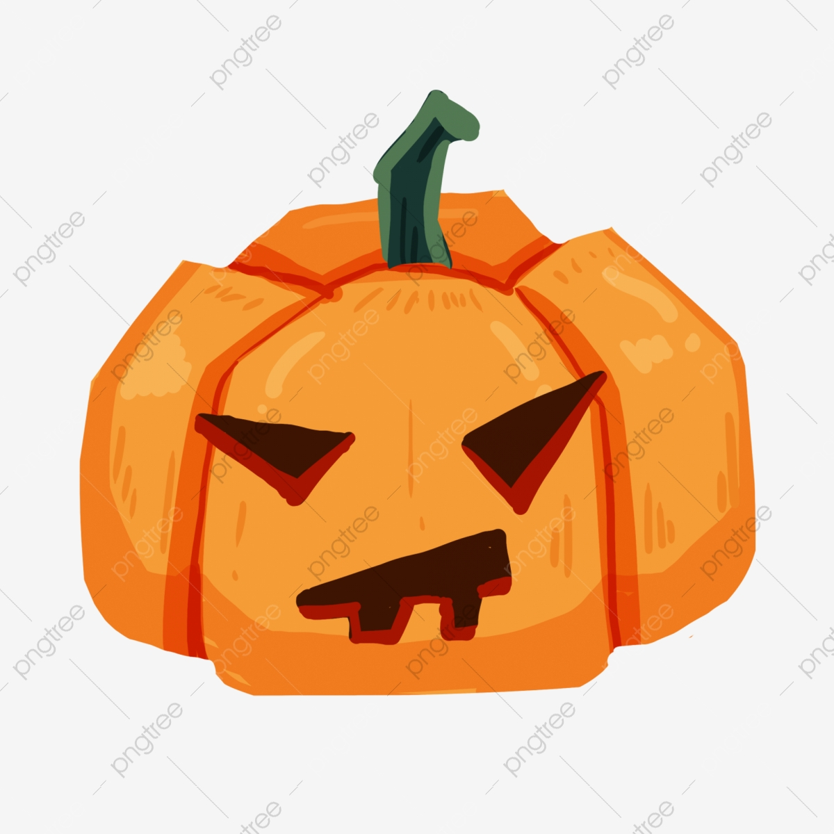 Halloween Pumpkins, Halloween Clipart, Halloween Elements.