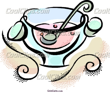 Punch Bowl Clipart.