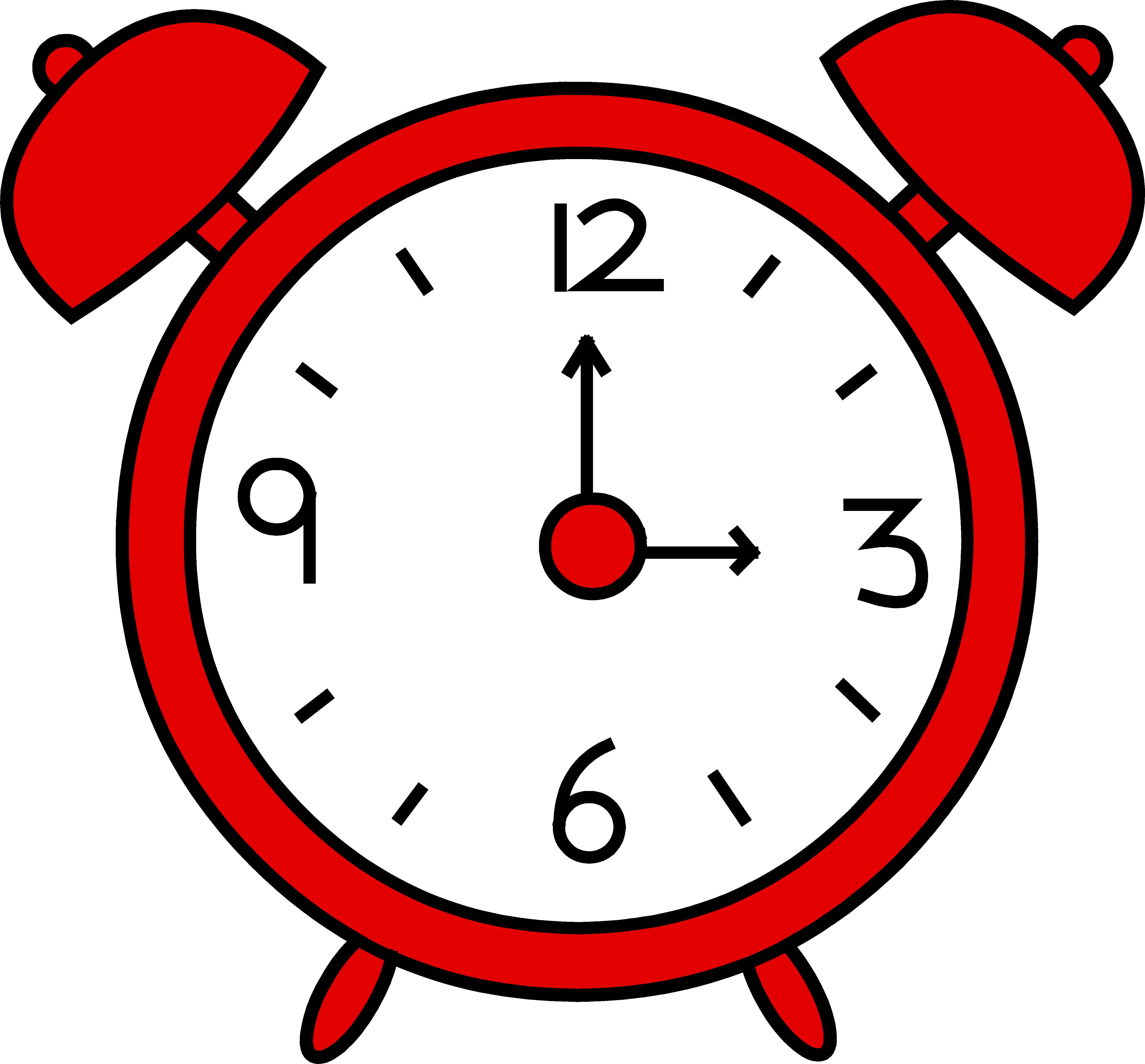 Timeclock Clipart.