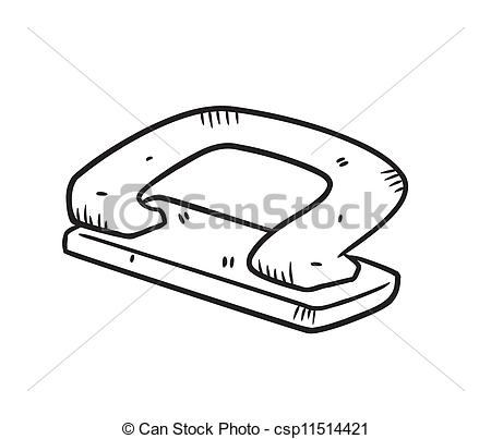 Hole puncher clipart.