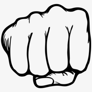 Fist Clipart Punch.