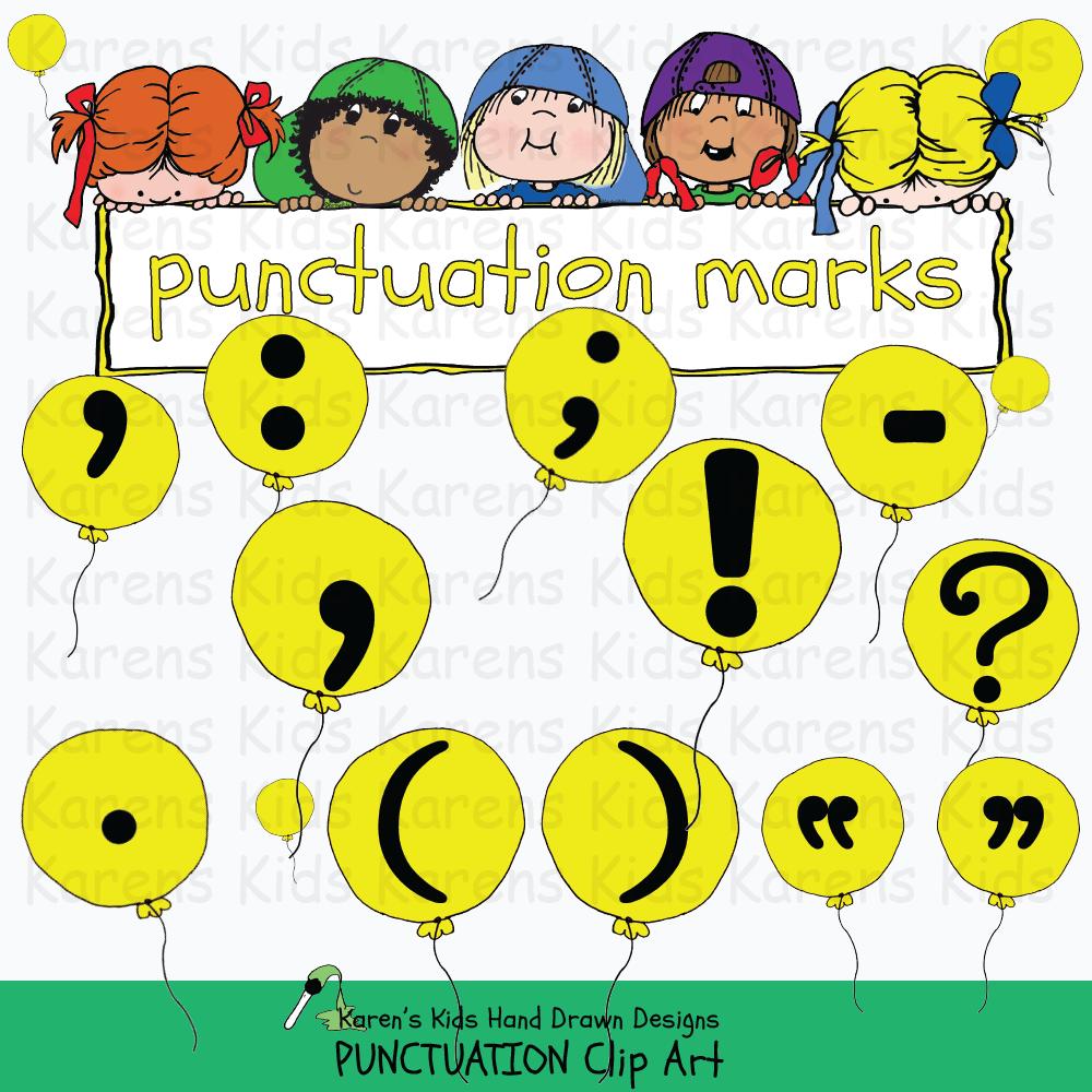 Clip Art Punctuation.