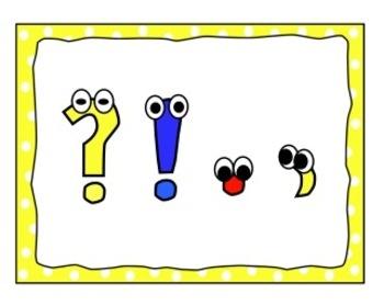 Punctuation Clip Art.