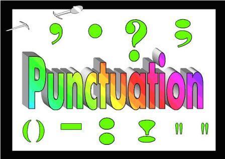 Punctuation Clipart.