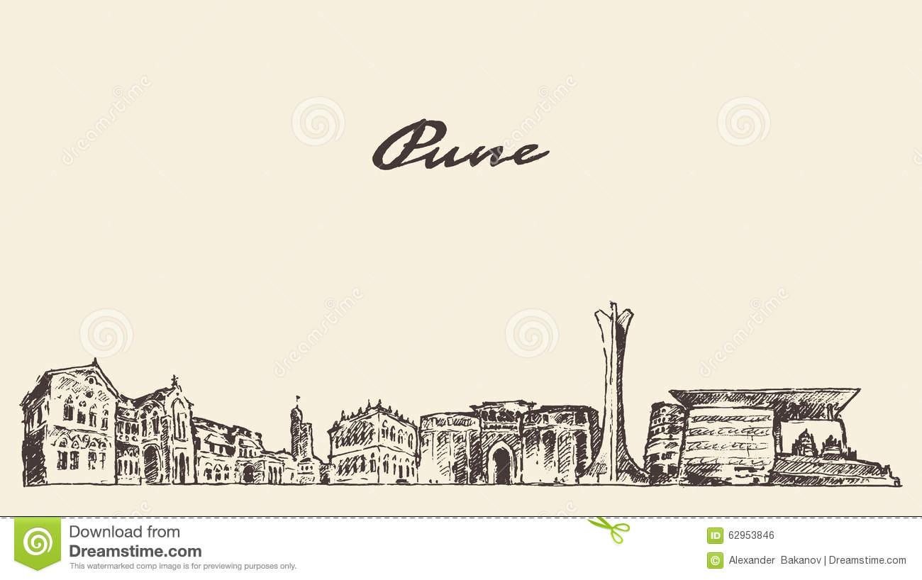 Pune city clipart #20