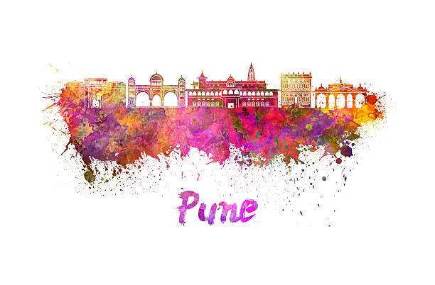 Pune India Clip Art, Vector Images & Illustrations.