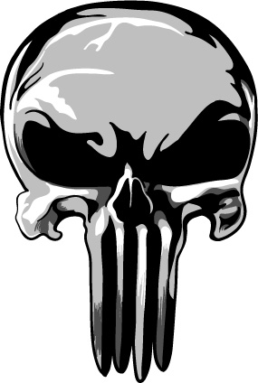 Collection of Punisher clipart.