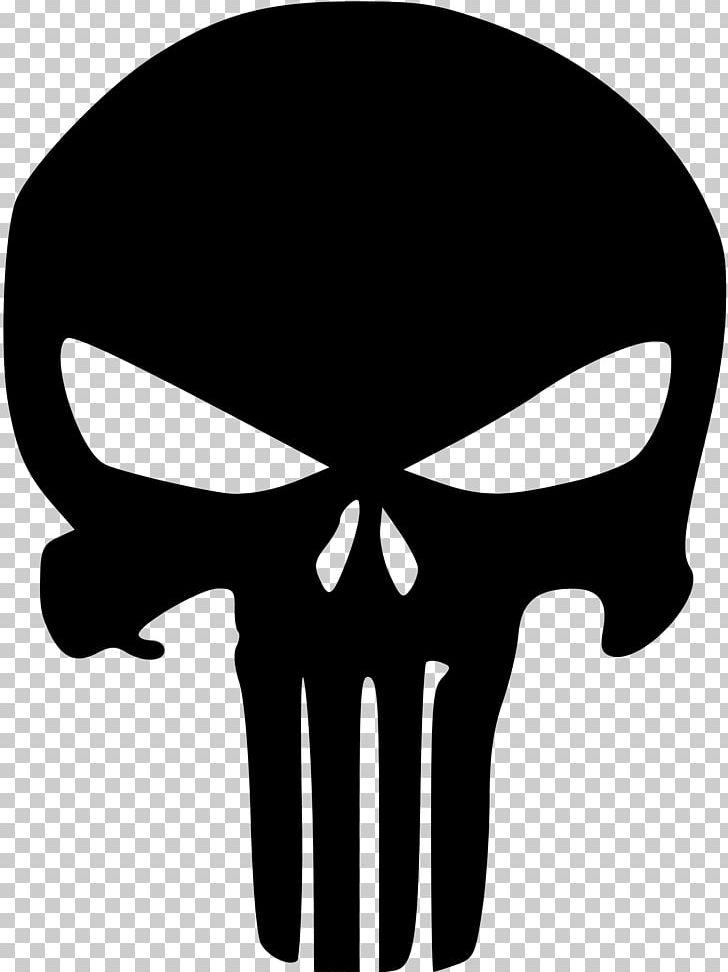 Punisher Stencil Skull PNG, Clipart, Airbrush, Art, Black.