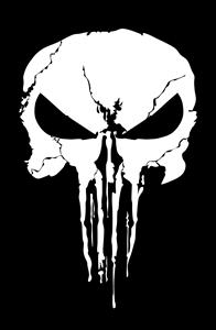 Punisher Logo Vectors Free Download.