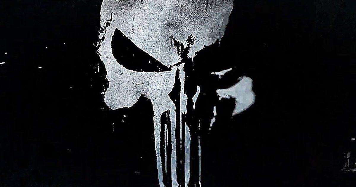 Netflix\'s New \'Punisher\' Logo Brings Back the Classic Skull.