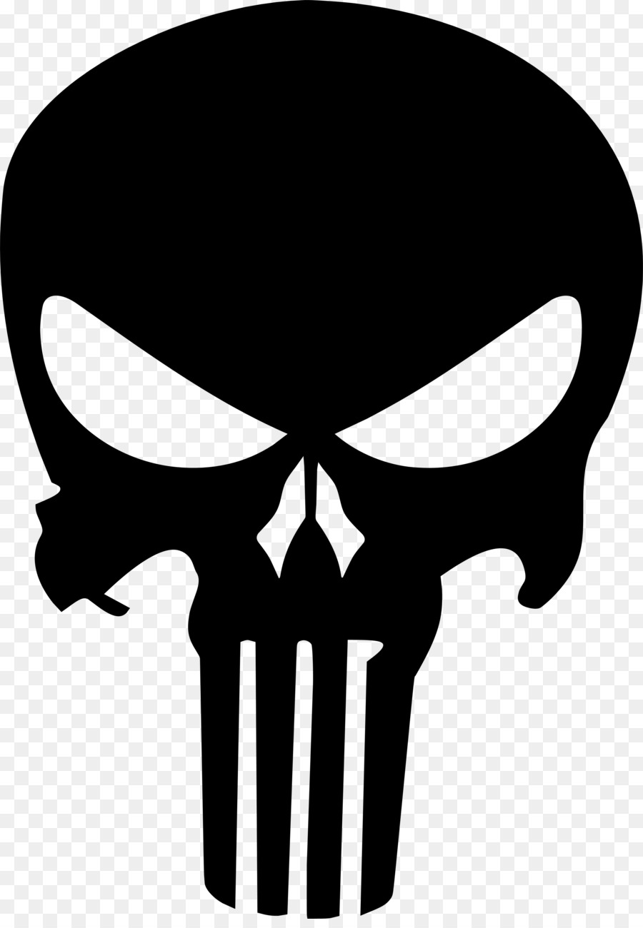 Punisher Skull png download.